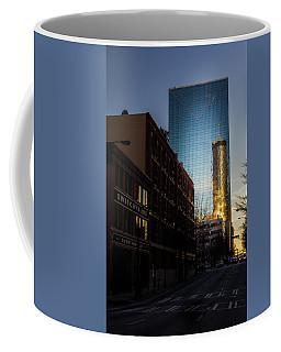 Mirror Reflection Of Peachtree Plaza Coffee Mug