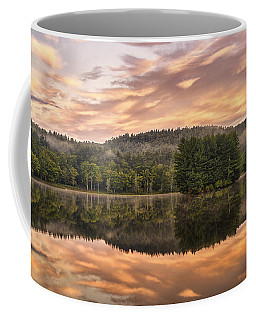 Bass Lake Sunrise - Moses Cone Blue Ridge Parkway Coffee Mug