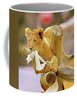 Coffee Mug featuring the photograph Mischief by Howard Bagley