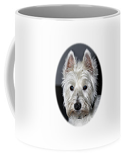 Mischievous Westie Dog Coffee Mug