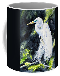 Miss April - Great Egret Coffee Mug