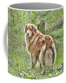 Miss B Coffee Mug by Rhonda McDougall