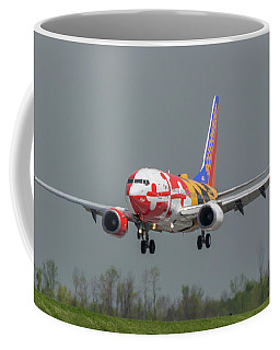 Coffee Mug featuring the photograph Miss Maryland Arriving by Guy Whiteley