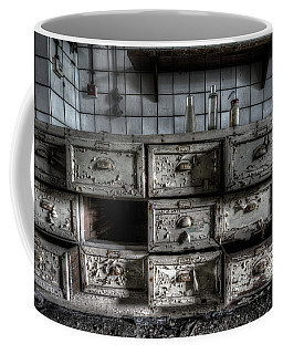 Coffee Mug featuring the digital art Missing Draw by Nathan Wright
