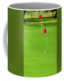 Coffee Mug featuring the photograph Missing The Mark by SR Green