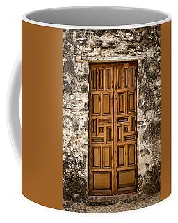 Mission Concepcion Door #3 Coffee Mug