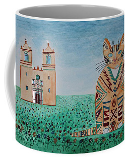 Mission Concepcion Cat Coffee Mug