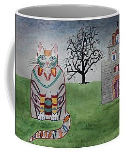 Mission Espada Cat Coffee Mug