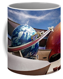 Mission Space Coffee Mug by Eduard Moldoveanu
