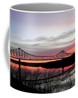 Mississippi River At Savanna Coffee Mug