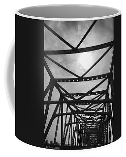 Mississippi River Bridge Coffee Mug