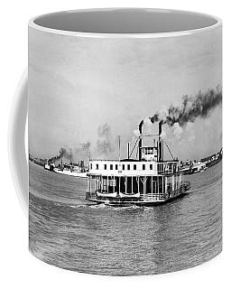 Mississippi River Ferry Boat Coffee Mug