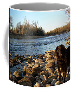 Coffee Mug featuring the photograph Mississippi River Good Morning by Kent Lorentzen