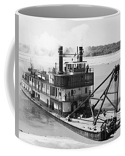 Coffee Mug featuring the photograph Mississippi River Snag Boat by Granger