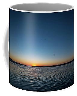 Mississippi River Sunrise Coffee Mug
