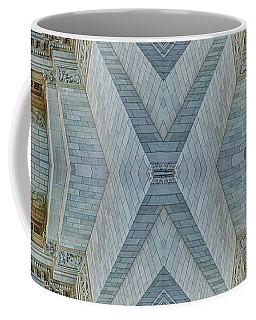 Coffee Mug featuring the photograph Missouri Capitol - Abstract by Nikolyn McDonald