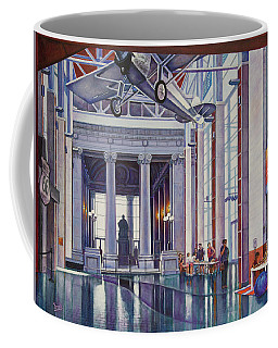 Coffee Mug featuring the painting Missouri History Museum by Michael Frank