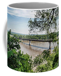 Missouri River At Hermann Coffee Mug