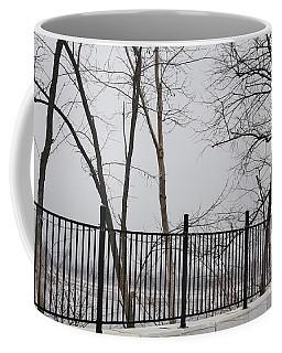 Missouri River Fence Coffee Mug