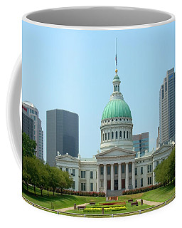 Coffee Mug featuring the photograph Missouri State Capitol Building by Mike McGlothlen