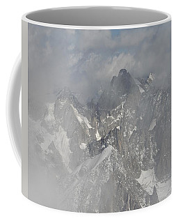 Mist At Aiguille Du Midi Coffee Mug