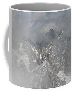 Mist At Aiguille Du Midi Coffee Mug