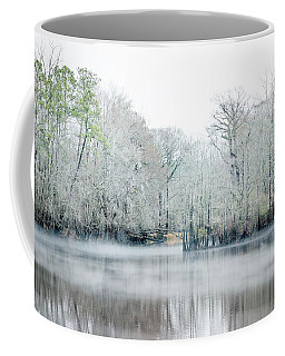 Mist On The River Coffee Mug