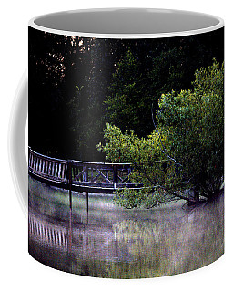 Mist On The Water Coffee Mug