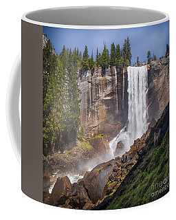 Mist Trail And Vernal Falls Coffee Mug