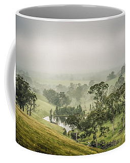 Coffee Mug featuring the photograph Mist Valley by Ray Warren