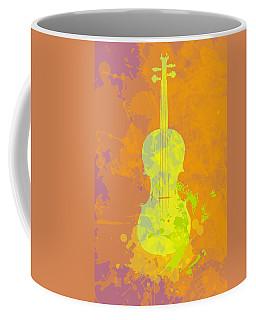 Mist Violin Coffee Mug