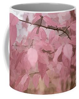 Misty Autumn Leaves Coffee Mug by Judy Palkimas