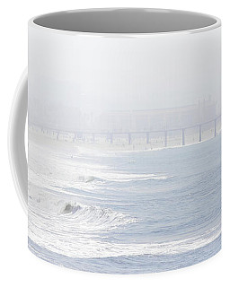 Misty Beach Morning  Coffee Mug
