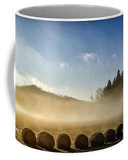Coffee Mug featuring the photograph Misty Country Morning by Thomas R Fletcher