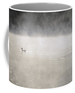 Misty Duck Coffee Mug