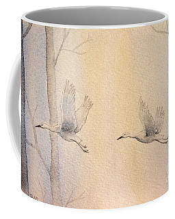 Misty Flight Coffee Mug