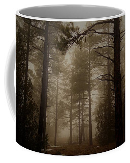Misty Forest Morning Coffee Mug