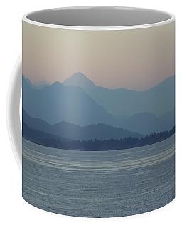 Misty Hills On The Strait Coffee Mug