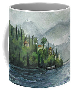 Misty Island Coffee Mug