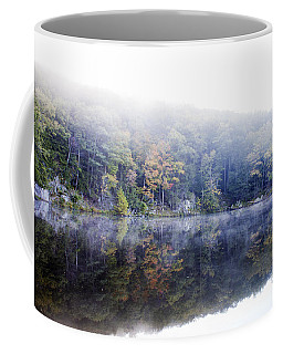 Misty Morning At John Burroughs #2 Coffee Mug by Jeff Severson