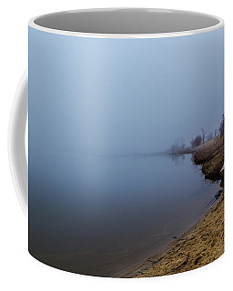 Misty Morning By The Lake Coffee Mug