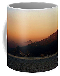 Misty Morning Catalina Island, California Usa Coffee Mug