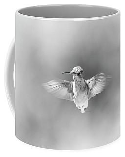 Misty Morning Hummingbird Coffee Mug
