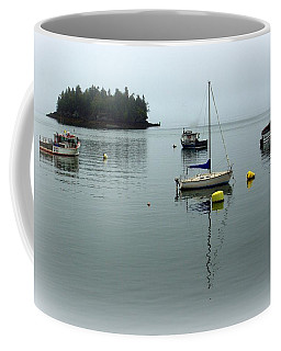 Misty Morning In Maine Coffee Mug