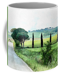 Misty Morning In Umbria Coffee Mug