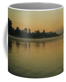 Misty Morning Lake Coffee Mug