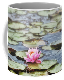 Misty Morning Lily Coffee Mug