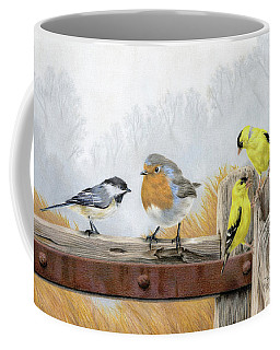 Misty Morning Meadow Coffee Mug