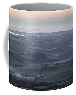 Misty Morning On Exmoor  Coffee Mug