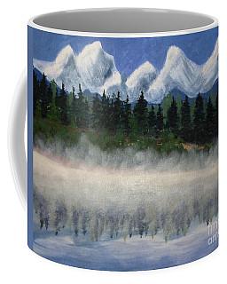 Misty Morning On The Mountain Coffee Mug